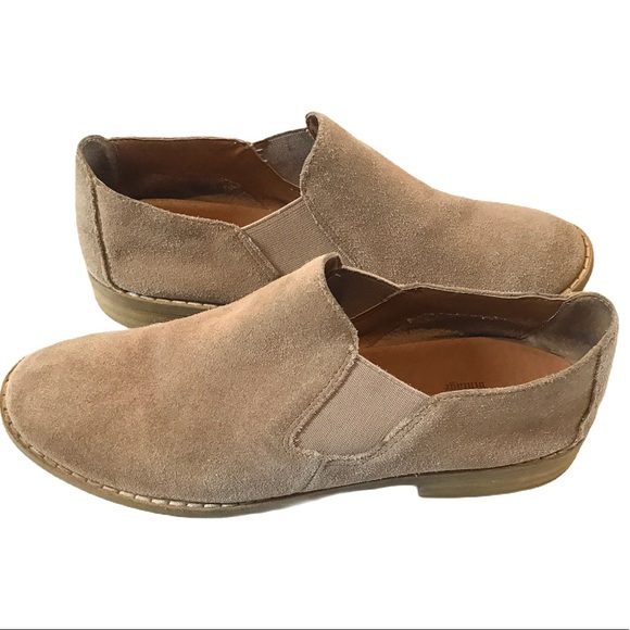 Crown Vintage Shoes - Crown Vintage Suede leather Tan Booties size 7